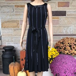 Sandra Darren Belted Dress